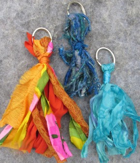 RecycledSilkKeyChains